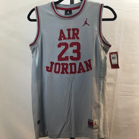 72993f737bed54 Air Michael Jordan  23 Basketball Jersey YL